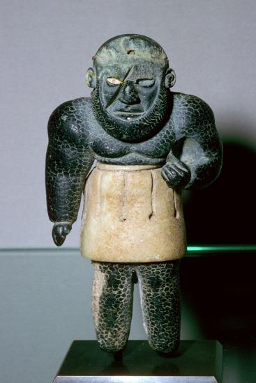 Bactrian statuette of the genie La Balafre (the Scarred One). Artist: Unknown-Unknown-Giclee Print