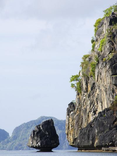 Bacuit Bay, El Nido Town, Palawan Province, Philippines, Southeast Asia-Kober Christian-Photographic Print