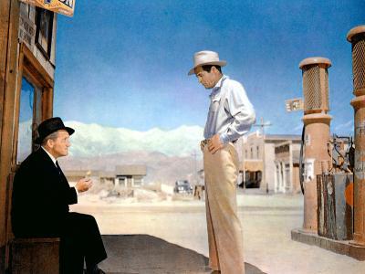 Bad Day At Black Rock, Spencer Tracy, Robert Ryan, 1955--Photo