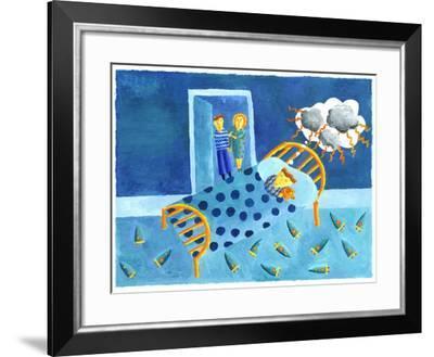 Bad Dreams, 2006-Julie Nicholls-Framed Giclee Print
