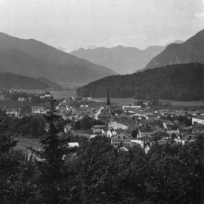 Bad Ischl, at the Foot of Hoher Dachstein, Salzkammergut, Austria, C1900s-Wurthle & Sons-Photographic Print