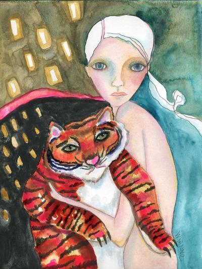 Bad Kitty-Wyanne-Giclee Print