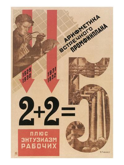 Bad Soviet Math--Art Print