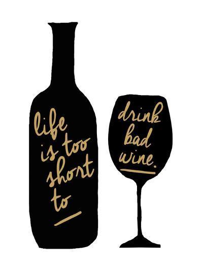 Bad Wine-Erin Clark-Giclee Print