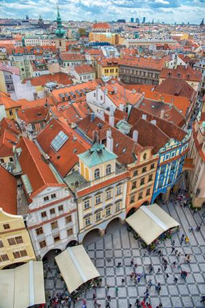 View over the Rooftops of the Old Town by badahos