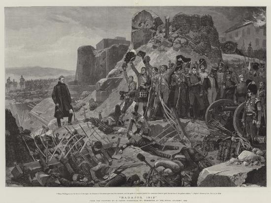 Badajos, 1812-Richard Caton Woodville II-Giclee Print