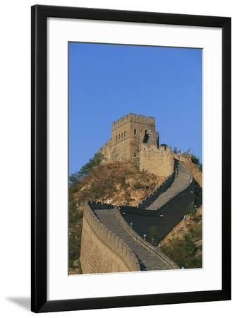 Badaling Section of Great Wall Built in 1505 (Unesco World Heritage List--Framed Photographic Print