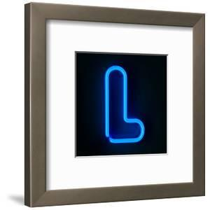 Neon Sign Letter L by badboo