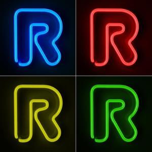 Neon Sign Letter R by badboo
