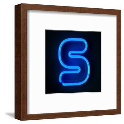 Neon Sign Letter S