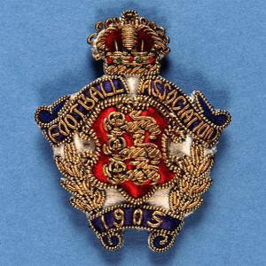 Badge from the Football Assocation, 1905