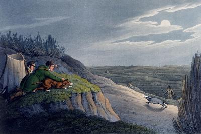 Badger Catching, 1820-Henry Thomas Alken-Giclee Print
