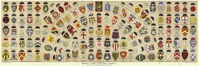 Badges and Caps of British Public Schools-Albert Lambert-Framed Giclee Print