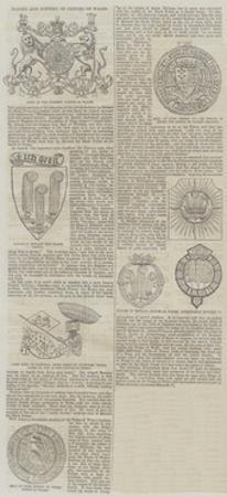Badges and Mottoes of Princes of Wales