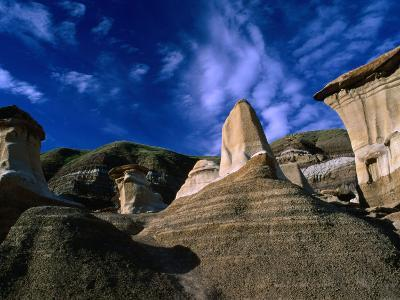 Badlands Formations Near Drumheller, Canada-Rick Rudnicki-Photographic Print
