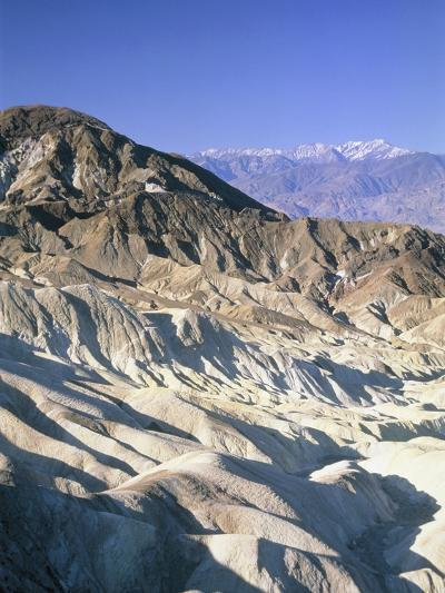 Badlands, Zabriskie Point, Death Valley, USA-Frank Lukasseck-Photographic Print