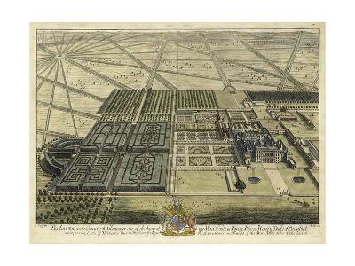 Badminton in Gloucester II-J. Kip-Art Print