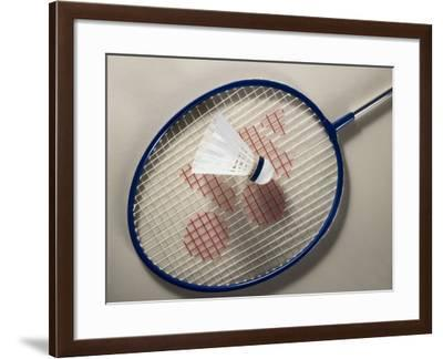 Badminton Still Life--Framed Photographic Print
