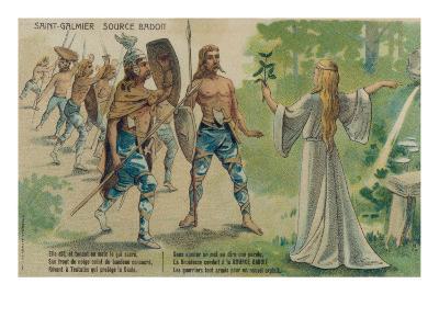 Badoit Discovered--Giclee Print
