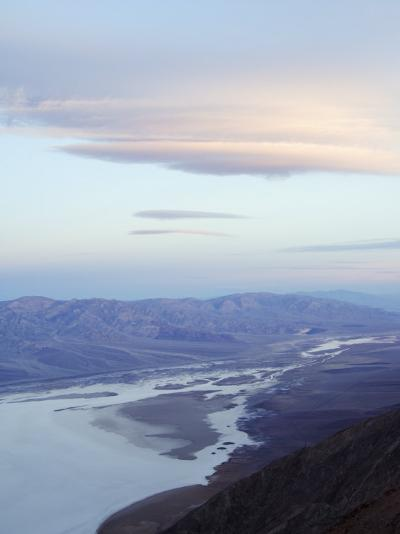 Badwater and the Panamint Range from Dantes View, Death Valley National Park, California, USA-Kober Christian-Photographic Print