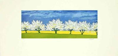 Bäume, c.2001-Henryk Fiset-Limited Edition