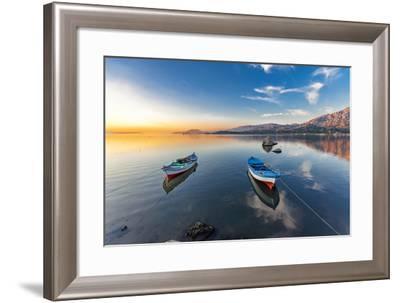 Bafa Lake, Turkey-Nejdet Duzen-Framed Photographic Print
