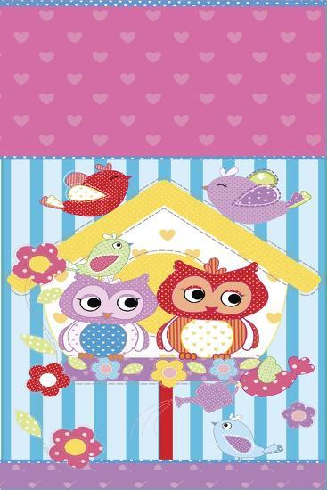 Bag Owl-Maria Trad-Giclee Print