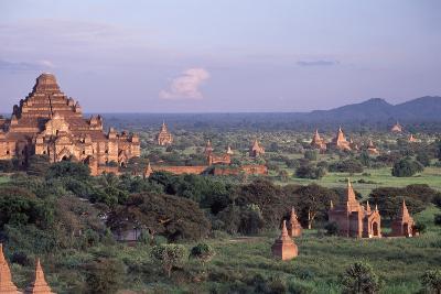 Bagan, Dhammayangyi Pagoda - Burma-Rainer Kiedrowski-Photographic Print