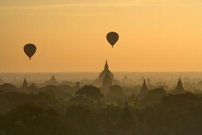 Bagan Pagodas in the Morning-Gavriel Jecan-Photographic Print