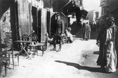Baghdad Bazaar, 1918--Giclee Print