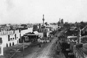 Baghdad Fron the North Gate, Iraq, 1917-1919