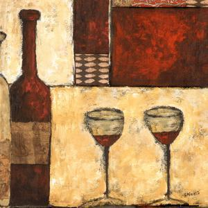 Red Wine for Two by Bagnato Judi