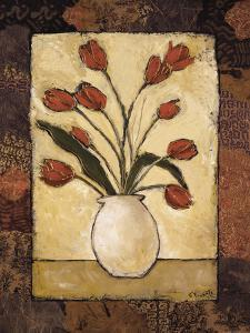 Tulips in Red by Bagnato Judi