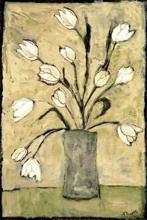 Tulips in White