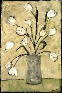 Tulips in White by Bagnato Judi