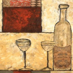 White Wine for Two by Bagnato Judi