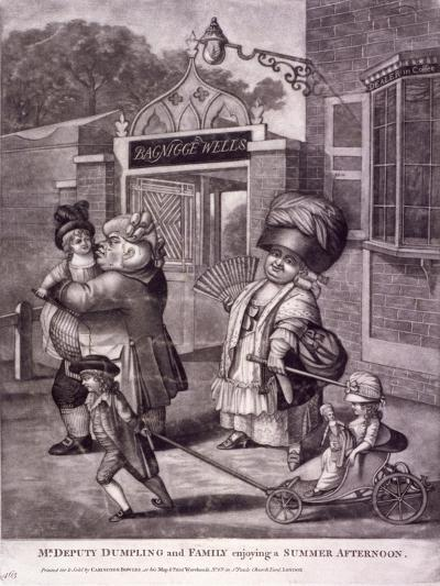 Bagnigge Wells, St Pancras, London, C1780--Giclee Print