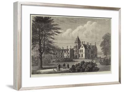 Bagshot Park, the Residence of Hrh the Duke of Connaught--Framed Giclee Print
