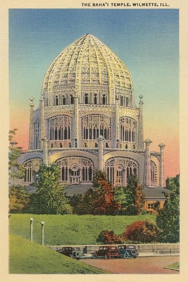 Baha'I Temple, Wilmette, Illinois--Art Print