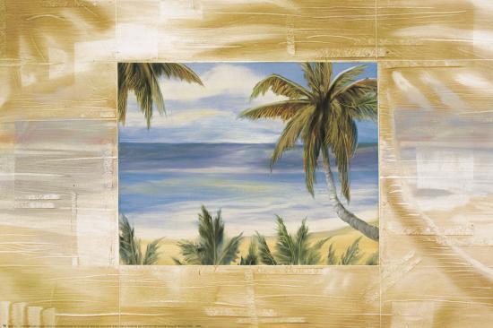 Bahama Breeze-Jeff Surret-Art Print