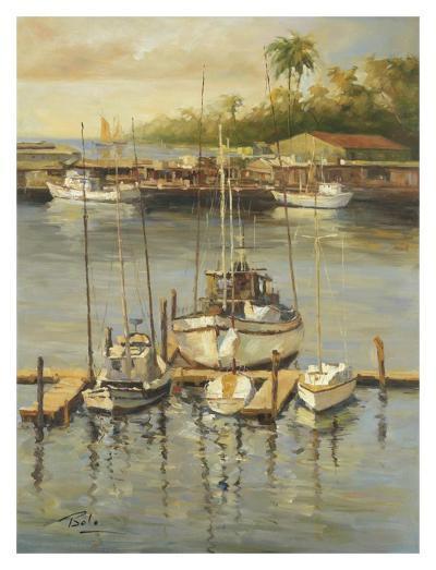 Bahama Harbor-Enrique Bolo-Art Print