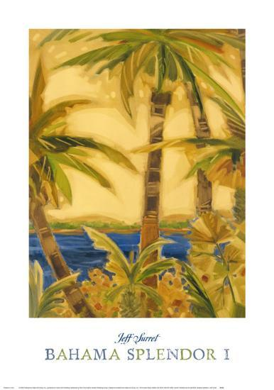 Bahama Splendor I-Jeff Surret-Art Print