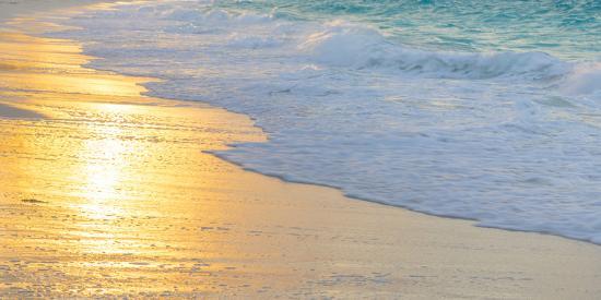 Bahamas, Little Exuma Island. Sunset on Beach-Jaynes Gallery-Photographic Print