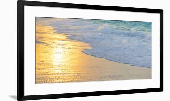 Bahamas, Little Exuma Island. Sunset on Beach-Jaynes Gallery-Framed Photographic Print