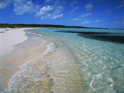 Bahamas. Pristine Beach-Kent Foster-Photographic Print