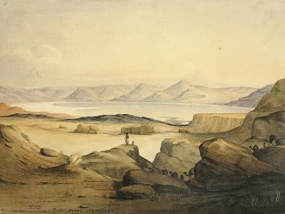 Bahr Assal Salt Lake, C.1841-Rupert Kirk-Giclee Print