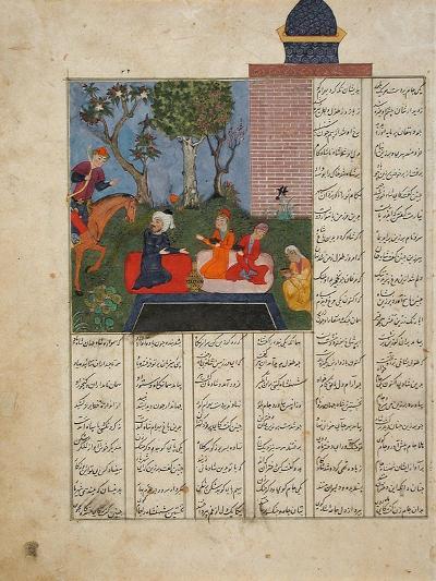 Bahram Gur and the Farmer's Family--Art Print