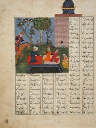 Bahram Gur and the Farmer's Family