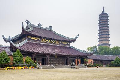 Bai Dinh Temple (Chua Bai Dinh), Gia Vien District, Ninh Binh Province, Vietnam, Indochina-Jason Langley-Photographic Print