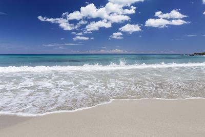 Baia Dei Turchi Beach, Near Otranto, Lecce Province, Salentine Peninsula, Puglia, Italy, Europe-Markus Lange-Photographic Print